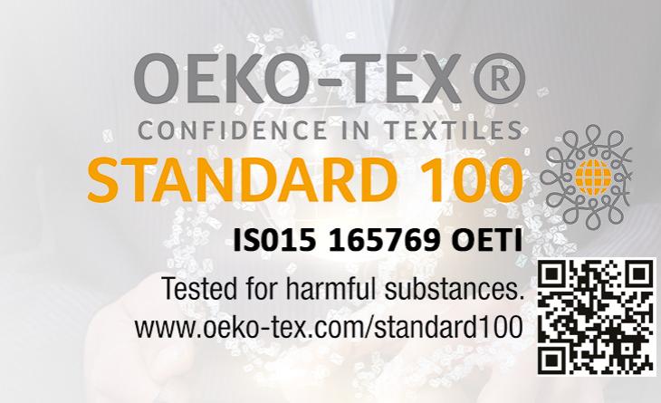 OEKO-TEX Standart 100 Sertifikamızı Aldık